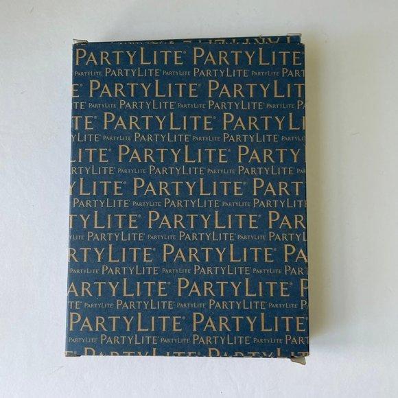 Partylite Tealights Mediterranean Blue